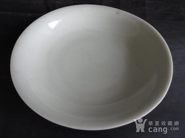 老豆青釉盘子图2