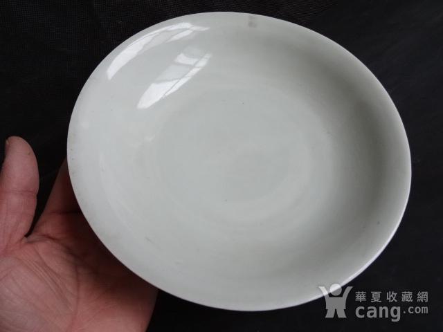 老豆青釉盘子图3