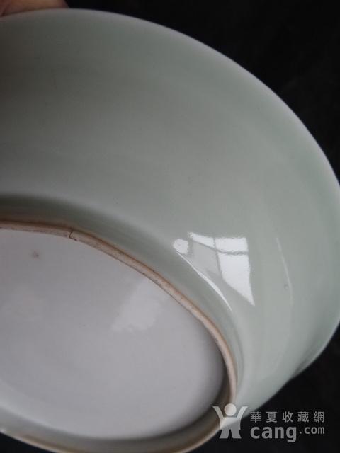 老豆青釉盘子图7