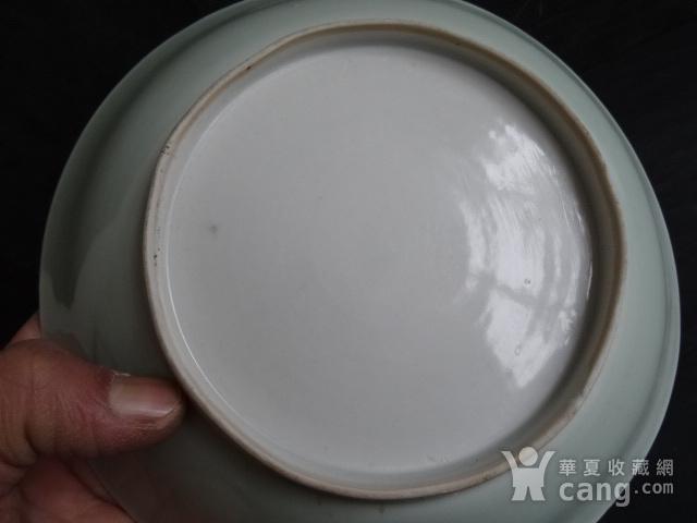 老豆青釉盘子图5