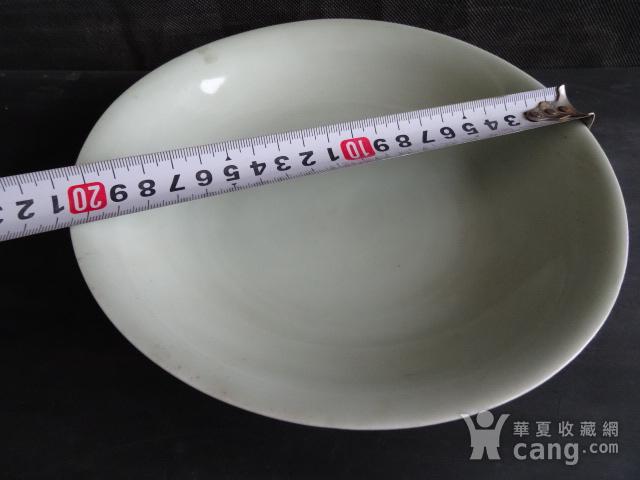 老豆青釉盘子图8