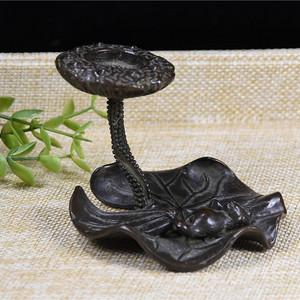 日本回流铜器  惬意的青蛙