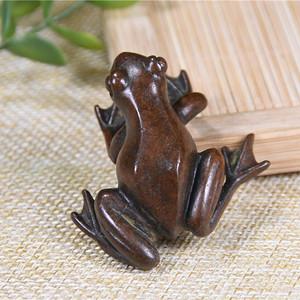 日本回流铜器 青蛙