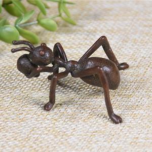 日本回流铜器  蚂蚁