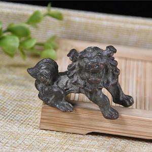 日本回流  铜器 狮子
