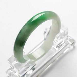 阳绿冰种正圈翡翠手镯 57mm  21L40 2