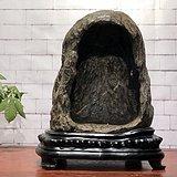 灵璧石   佛龛