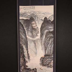 本场压轴,大幅,长江三峡图