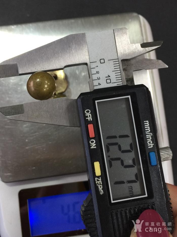 8015欧洲回流铜鎏金扣子三枚图10
