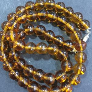 8022欧洲回流黄水晶项链可改成手串