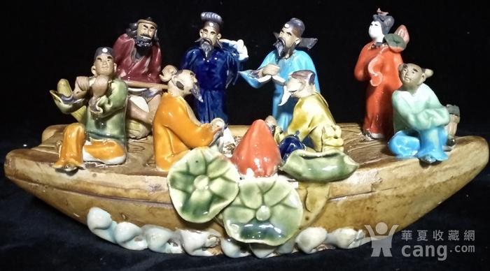 英国回流创汇时期八仙瓷塑图1