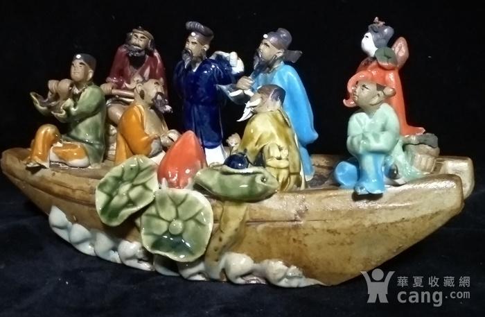英国回流创汇时期八仙瓷塑图7