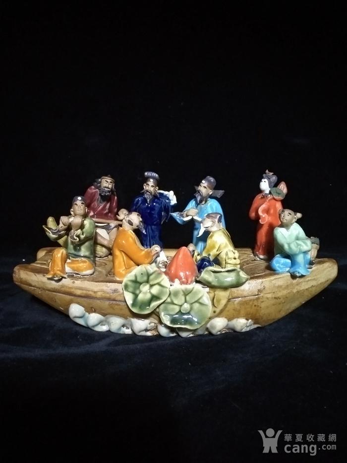 英国回流创汇时期八仙瓷塑图11