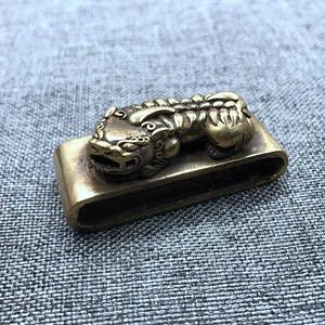 美国回流之铜貔貅带扣