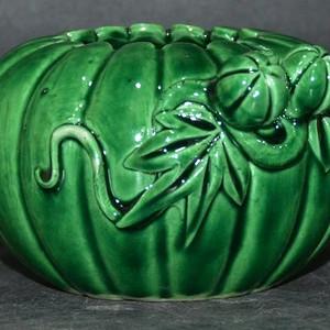 英国回流之孔雀绿雕塑南瓜洗