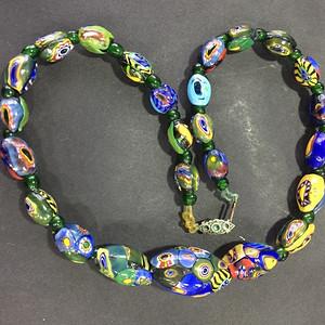 8064欧洲回流威尼斯老琉璃珠项链