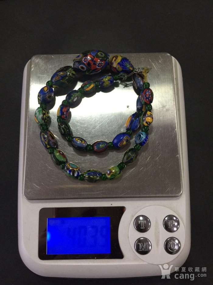 8064欧洲回流威尼斯老琉璃珠项链图11