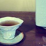 民国福寿双全德化爵杯