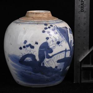 景德镇老瓷器厂青花罐