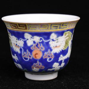 景德镇老瓷厂粉彩杯
