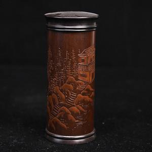 老煤竹茶叶罐