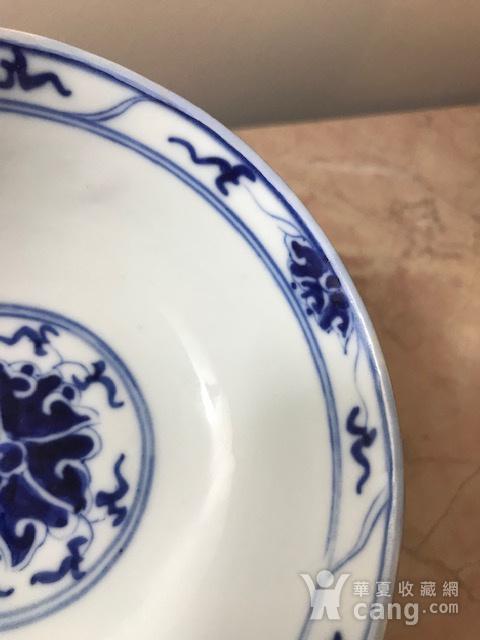 7469 民国 青花宝象花纹碗图6