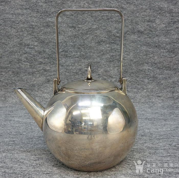 本場壓軸,龍文堂 安之介銀壺圖2