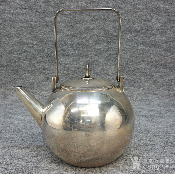 本场压轴,龙文堂 安之介银壶图2