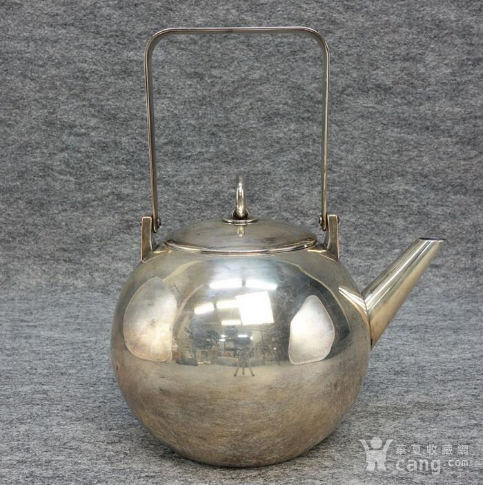 本场压轴,龙文堂 安之介银壶图4