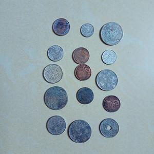 外国硬币15枚