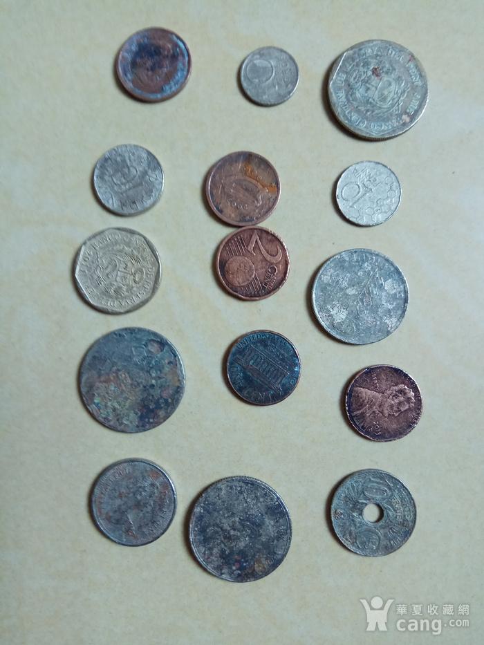 外国硬币15枚图2