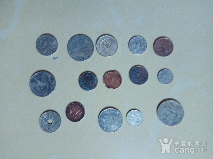 外国硬币15枚图3