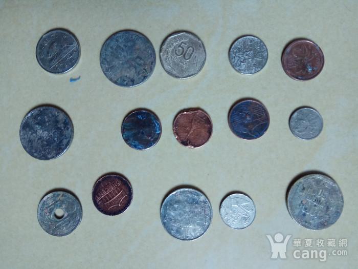 外国硬币15枚图4
