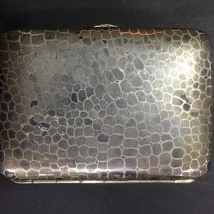 8092欧洲回流老合成银烟盒