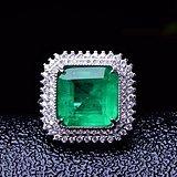 联盟  祖母绿戒指