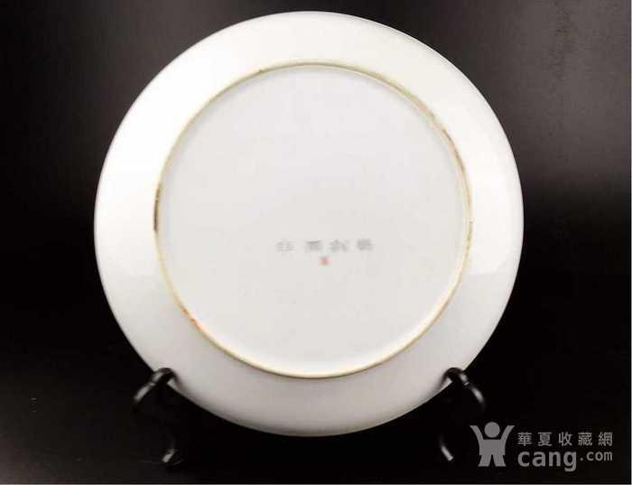 英国回流的中国刻瓷盘图6