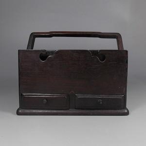 老红木提梁盒