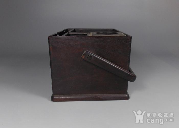 老红木提梁盒图3