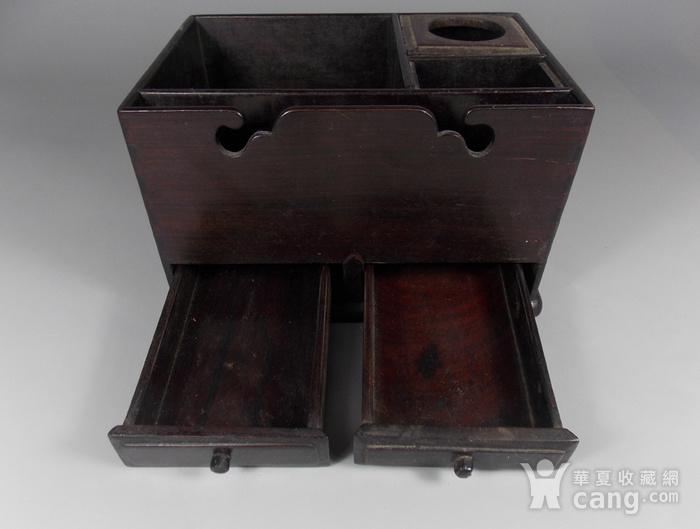 老红木提梁盒图5