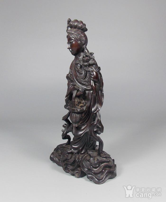 民国黄杨木雕�肮孟资偻�4
