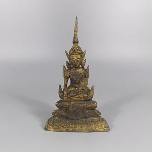 铜鎏金佛造像