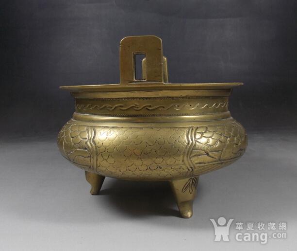 民国铜鼎式炉图2
