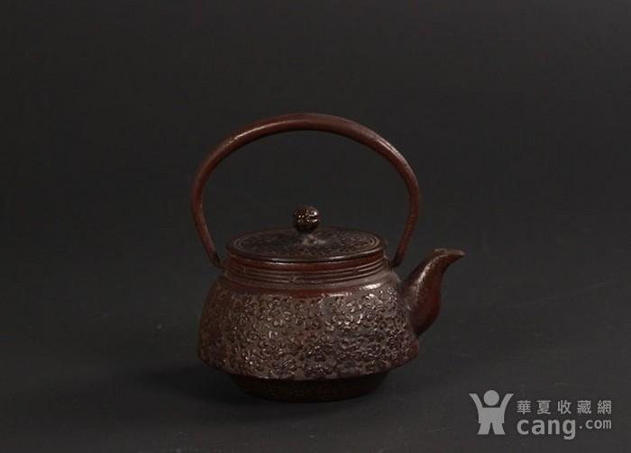 精品南部金秀堂铁手壶图1
