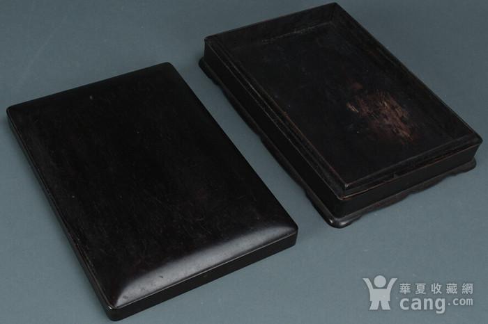 老红木砚盒图2