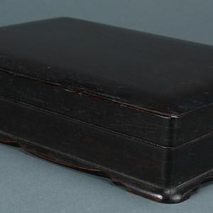 老红木砚盒
