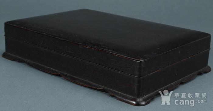 老红木砚盒图1