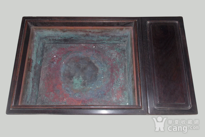 老红木长方大型暖炉图4