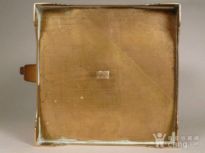 民国铜诗文茶壶图7