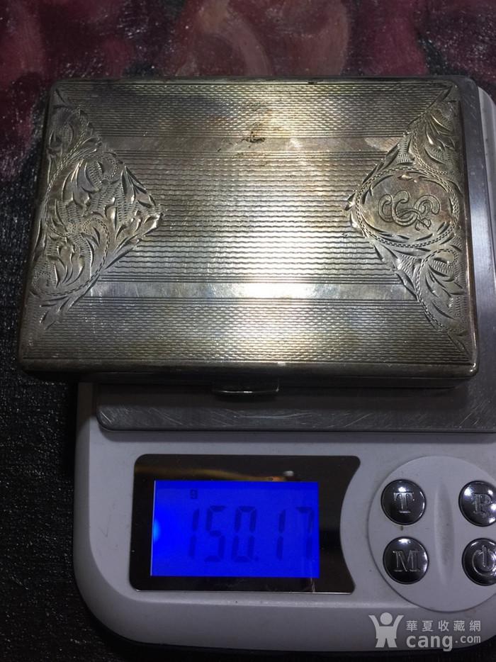 8110欧洲回流老合成银烟盒图10