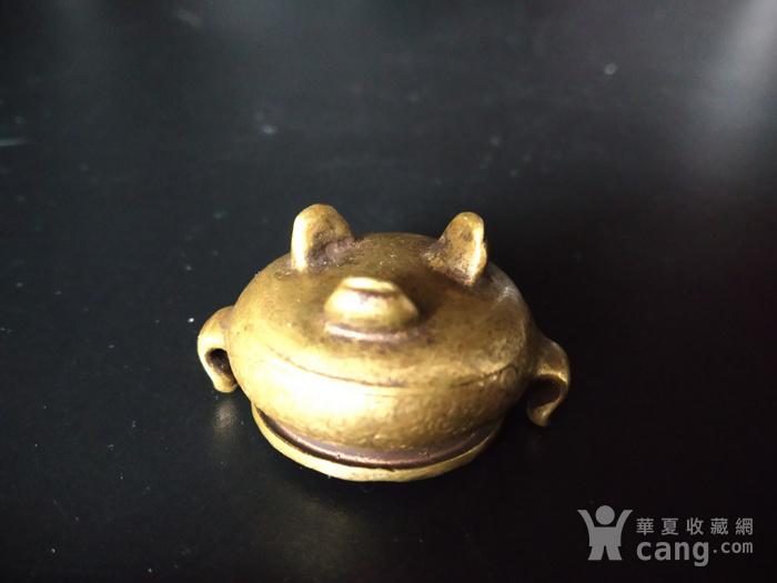 最小精品 铜香炉图3